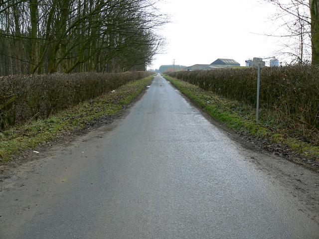 The road to Marston Meysey