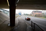 Leigh Road passes under the M3, Eastleigh