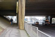 Leigh Road passes under the M3 motorway, Eastleigh