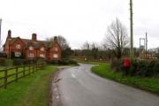 Little Dalby Road towards Church Lane junction