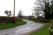 Little Dalby Road towards Great Dalby