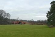 Eden Bridge, south side, complete view, Lazonby / Kirkoswald