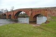 Eden Bridge, south side, Lazonby / Kirkoswald