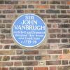 Blue plaque to Sir John Vanbrugh