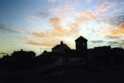 Aldeburgh, evening sky