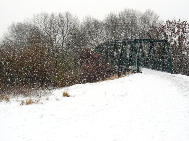 Attenborough Nature Reserve Bridge