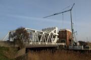 Sutton Road Bridge under repair