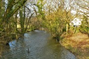 Upstream of the River Ely, Miskin