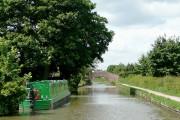 The Coventry Canal towards Bolehall, Staffordshire