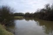 River Medway between Ford Green Bridge & East Lock