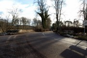 Bridge over Pow Burn at Farnell