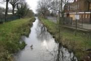Longford River in Feltham