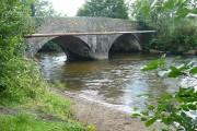 Bridge across the River Rhymney, Bedwas