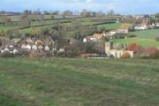 View over Lambley