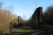 Bridge abutments at former Penrhos Upper Junction