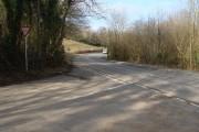 Road junction near Cross Hands