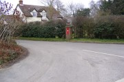 Victorian Postbox & House,  Chattisham