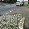 Old Cast Iron Milepost