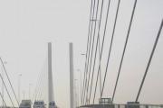 Dartford Crossing Bridge from the fast lane