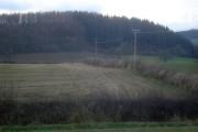 Farmland east of Paysure Wood
