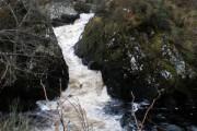 River Farigaig falls at Torness