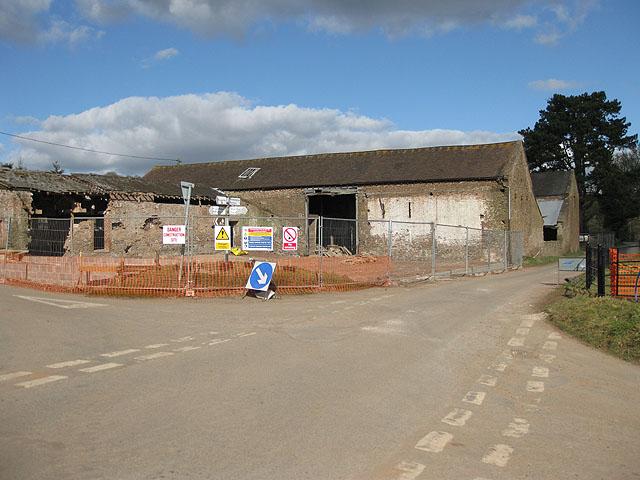 Renovations at Ladyridge Farm