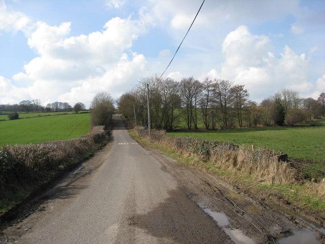 Leaving Alderwasley