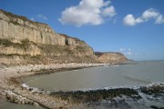 Beach at East Cliff, Hastings, East Sussex