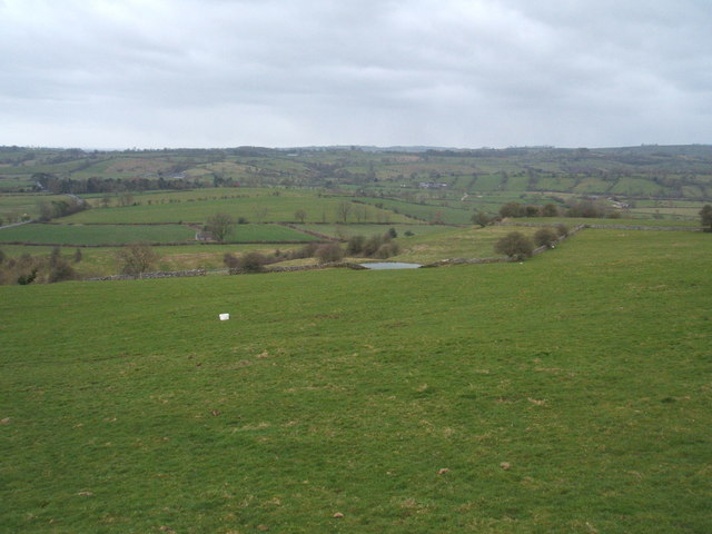 Pasture land above Ballidon