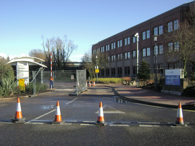 Site entrance, Warwick Technology Park