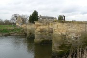 Piers of an earlier Bridge