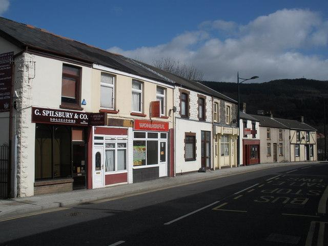 Commercial Street, Mountain Ash