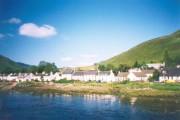 Dornie from the bridge over Loch Long