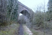 Skew bridge over the Thames and Severn Canal