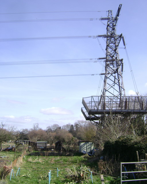 Terminal tower, Potterton's allotments, Warwick