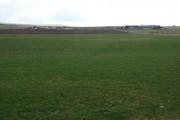 Looking across farmland, Sandwick