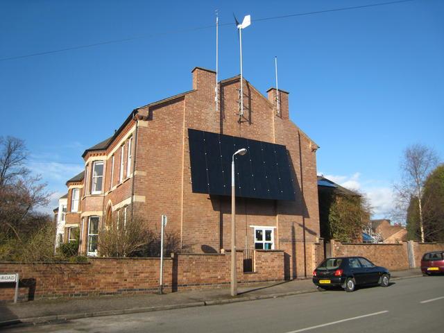 Solar Panels & Wind Generator