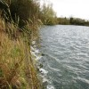 Startops Reservoir, Tring – Waves Breaking against embankment