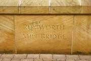 Rumworth Mill Bridge, Stone