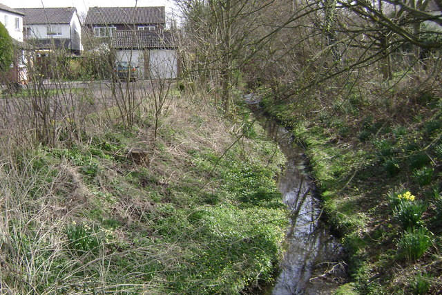 Stream near Ward Grove, Myton, Warwick