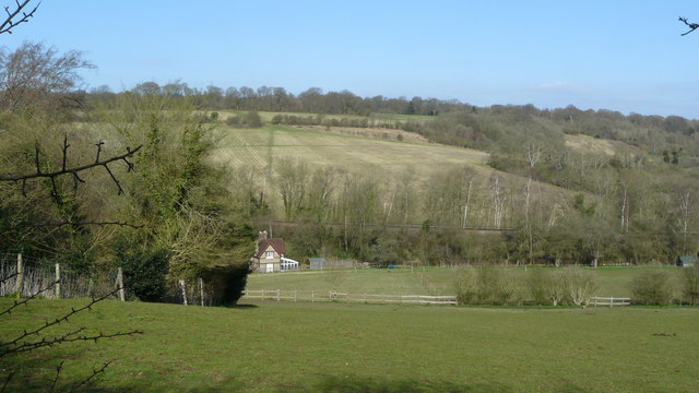 View Across the Chipstead Valley