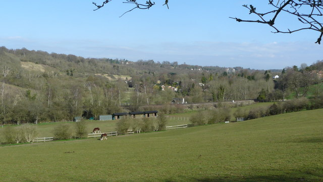 View Down the Chipstead Valley