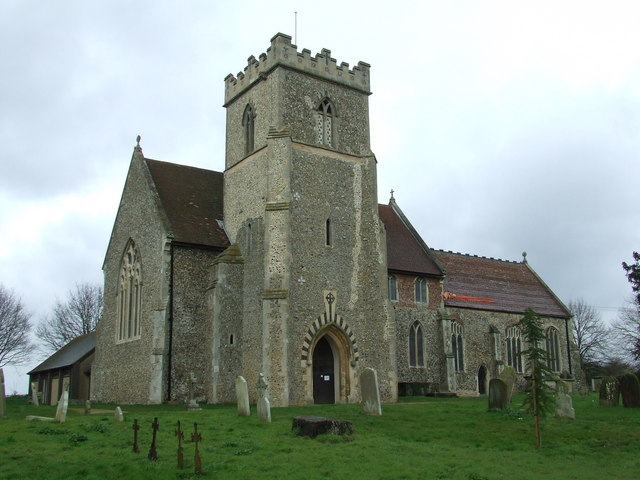 St Mary And St Peter Barham