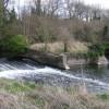 Weirs above Rock Mill, River Avon, Warwick