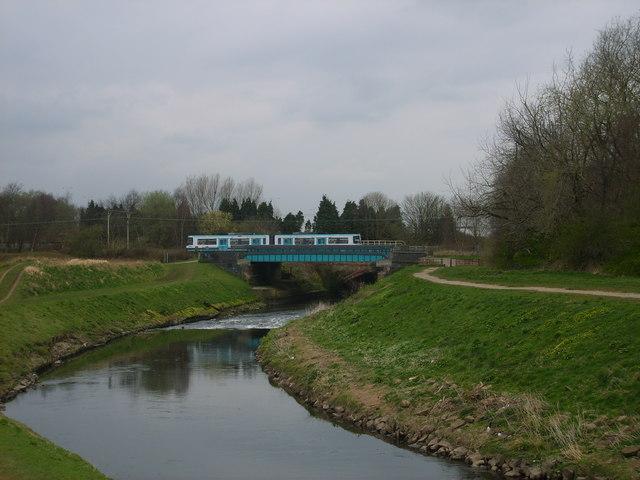 Tram Crossing the Mersey