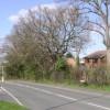 Housing in Stephenson Close off Old Milverton Road, Leamington Spa