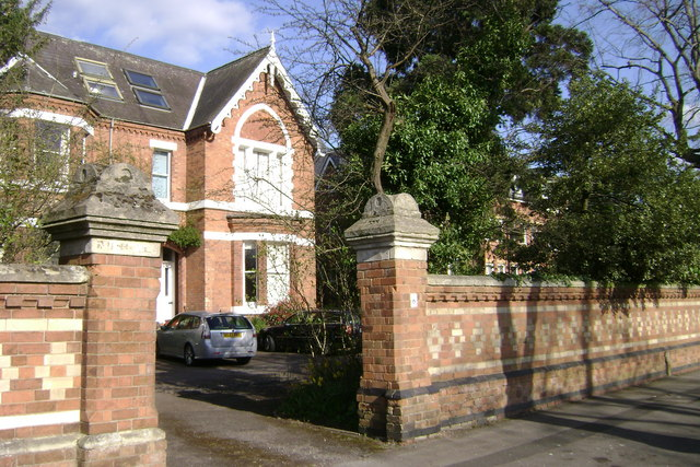Victorian house, Guy's Cliffe Avenue