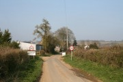 Coming into Lyneham