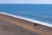 Beach near Eype Mouth