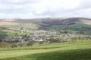 Across the fields towards Sabden